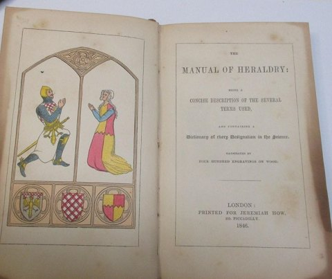 The Manual of Heraldry. London 1846.