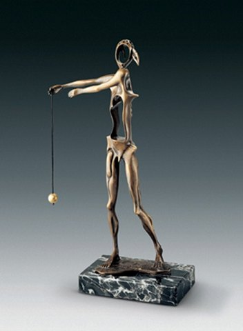 "Salvador Dali ""Homage to Newton"" 1980 First cast: 1980 nr. 266/350 Bronze"