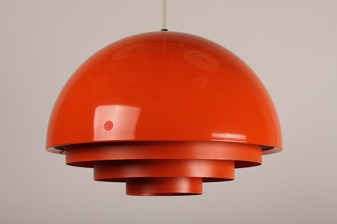 Jo Hammerborg Milieu lampe orange
