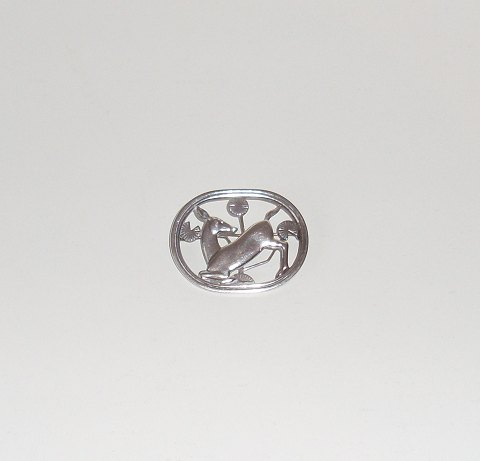 Arno Malinowski for Georg Jensen broche no.256, 1930-45