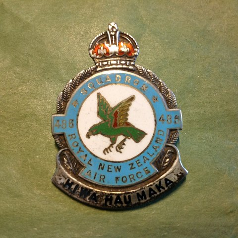Medalje. Royal New Zealand. Air Force.