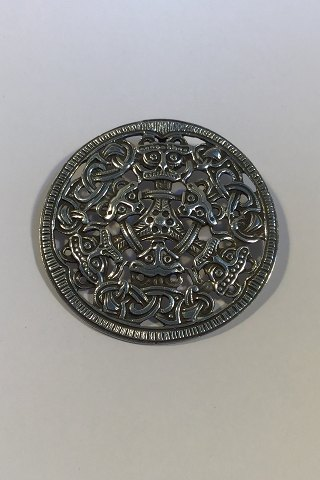 David Andersen Sterling Sølv Vikinge-broche