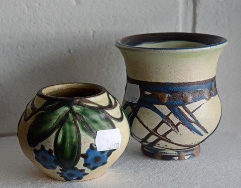 www.Antikvitet.net - Vaser. * Kähler keramik.