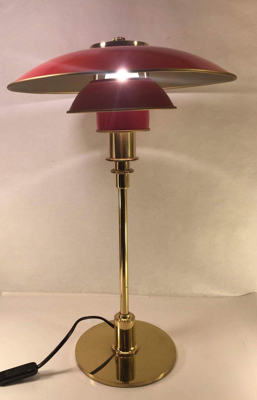 Ph Lampe Kobber Udendørs Brugt - www Antikvitet net PH bordlampe Poul Henningsen Louis Poulsen PH 3 2 Bordlampe